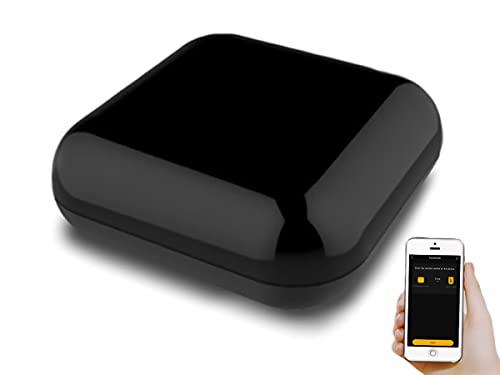 LEDLUX SH9444 - Mando a distancia WiFi universal, Smart Remote Controller, acoplador remoto IR RF 433 MHz 315 MHz, compatible con Alexa y Google Home