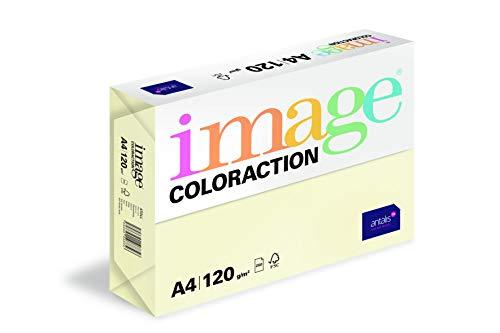 Image Coloraction - farbiges Kopierpapier Atoll/elfenbeinf. 120g/m² A4 - Paket zu 250 Blatt