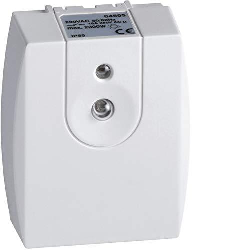 Interruptor crepuscular – compacto evolutivo – 16 A – Hager 04505