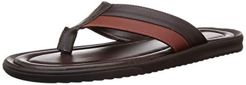 BATA Men Nw Joy Th Brown Thong Sandals-7 (8714776)
