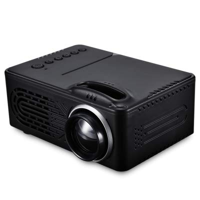 GoldenDays RD-814 1080P Portable LED Mini Projector High Resolution Multimedia...