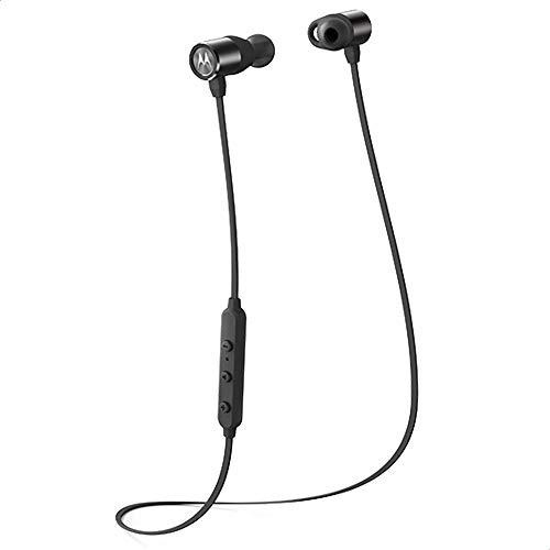 Motorola VerveLoop200 - Kabelloser In-Ear-Kopfhörer - IP54 - Alexa, Siri, Google Assistant - Schwarz