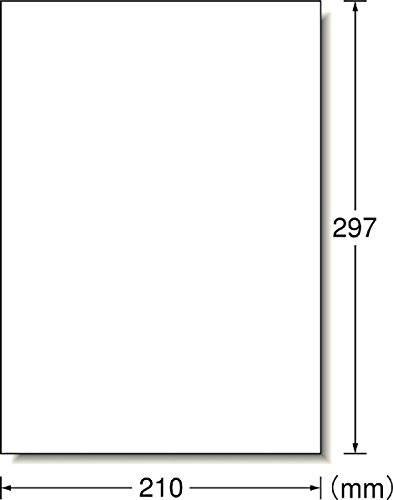 エーワンアイロンプリントシート白生地用8シート52135