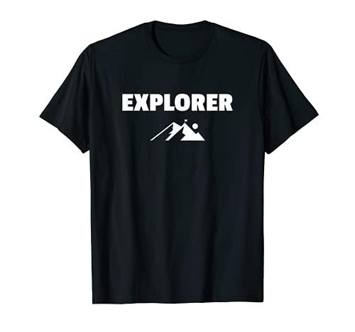 Explorer Camiseta