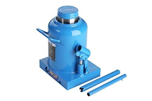 Pro-Lift-Werkzeuge 50 t Stempelheber Wagenheber Hydraulikheber, Kolbenhub 195 mm Arbeitszylinder cylinder 50000 kg Druckkraft Schwerlastheber 50t