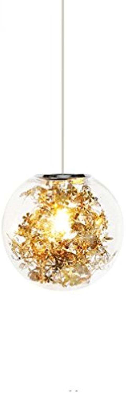 Moderne Schlichtheit E27 Pendellampe Persnlichkeit Kreative Glas Pendelleuchte Single Kopf Runde Hngeleuchte Bequem Bar Wohnzimmerlampe Goldene Hngelampe Eisen Lampe Hhenverstellbar Lüster 250MM
