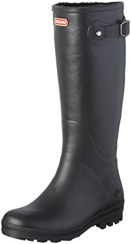 Viking, Damen Foxy Winter Langschaft Gummistiefel, Schwarz (Black 2), 37 EU