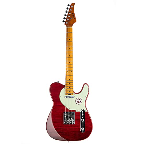 EART Classic Telecaster Electric Guitar Maple Fingerboard,Stainless Steel Frets,Tabby...
