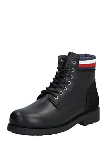 Tommy Hilfiger Herren Active Waterproof Boot Klassische Stiefel, Schwarz (Black 990), 46 EU