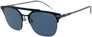 Emporio Armani EA 2090 BLACK/BLUE 45/14/140 men Sunglasses