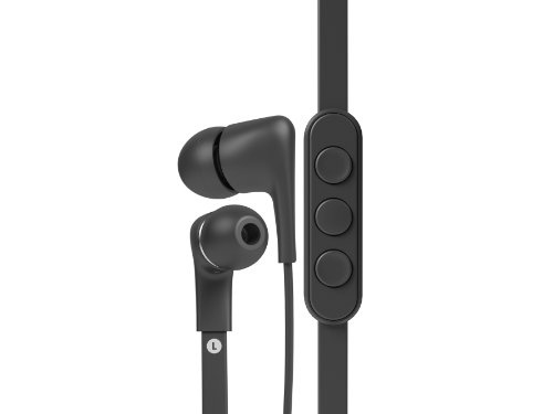 Jays Five - Auriculares para iPhone, Color Negro