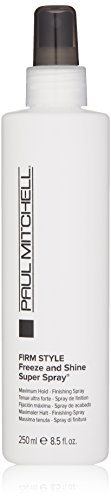 Paul Mitchell Freeze and Shine Super Spray Firm Hold Finishing Spray for Unisex -  131673