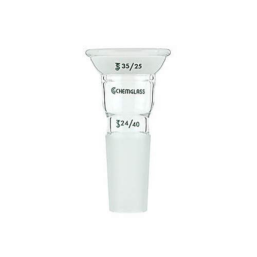 Chemglass Ranking TOP19 CG-1008-03 Series CG-1008 security Connecting 35 To 20 Adapter