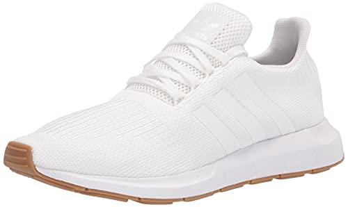 adidas Originals Men's Swift Running Shoe, White/White/Gum, 11.5