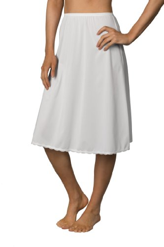 Shadowline 25' Flare Half Slip, White, Small