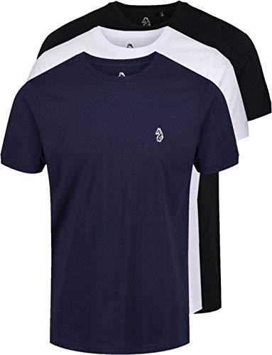 Luke 1977 Uomo T-Shirt 3 Pezzi Johnys, Multicolore, L