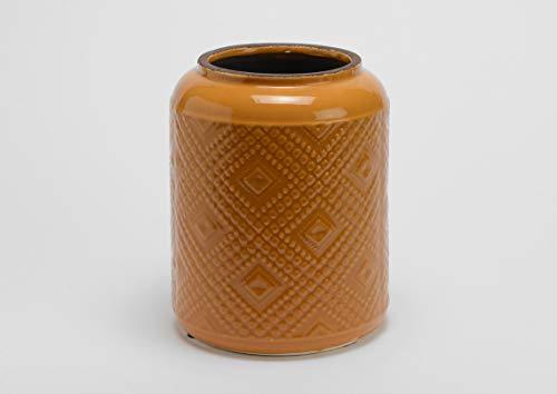 Vase Massai Safran, hauteur 24 cm, Amadeus