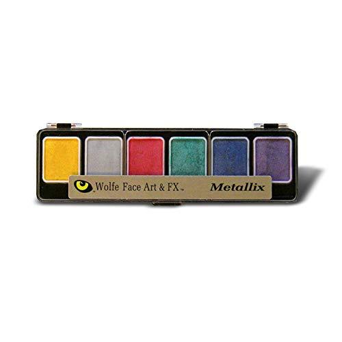 Wolfe Novelties - 6 Color Metallic Pallet