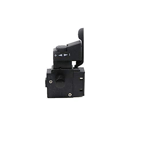 Homyl Herramienta de Bloqueo de Botón eléctrico Rejilla Resistente plástico Metal Herramientas - Negro- # 2