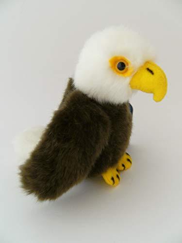 Unbekannt Stofftier Adler 11 cm, Kuscheltier Plüschtier Vogel Greifvogel