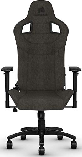 CORSAIR T3 RUSH Gaming Chair Comfort Design, Charcoal chair gaming