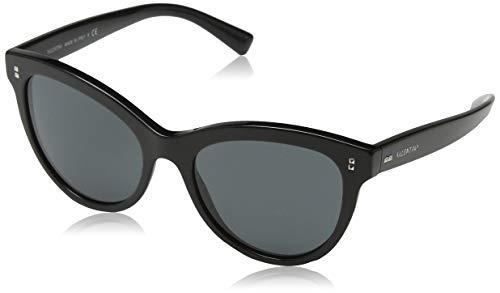 Valentino Damen 0VA4013 500187 54 Sonnenbrille, Schwarz (Black/Smoke)
