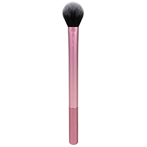 Brosse À Poudre De Miel Éclaircissante Haute Brillance Pour Pinceau De Maquillage Portable Pour Étudiants Débutants, Rose