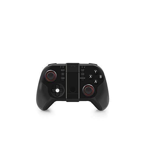 Video Game Joystick| Mini VR Bluetooth Gamepad Wireless Joystick Controller for iPhone iOS Icade PC Smart TV Mini Gaming Gamepads-Black-