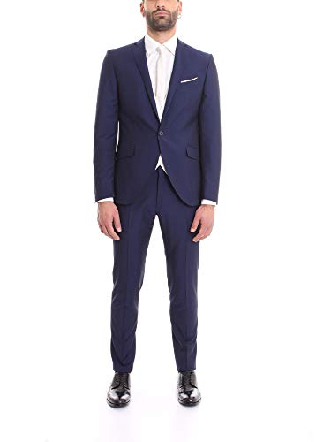 Corneliani Luxury Fashion Herren 857Z55016413502 Blau Viskose Anzuge | Frühling Sommer 20