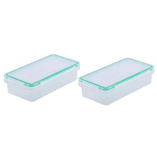Caja de batería resistente al desgaste, 9 x 1.9 x 0.86 pulgadas segura y seca la batería está organizada caja de almacenamiento de la batería