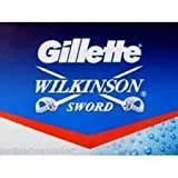 gillette double edge blades - 100 X Wilkinson Sword Double Edge Safety Razor Blades
