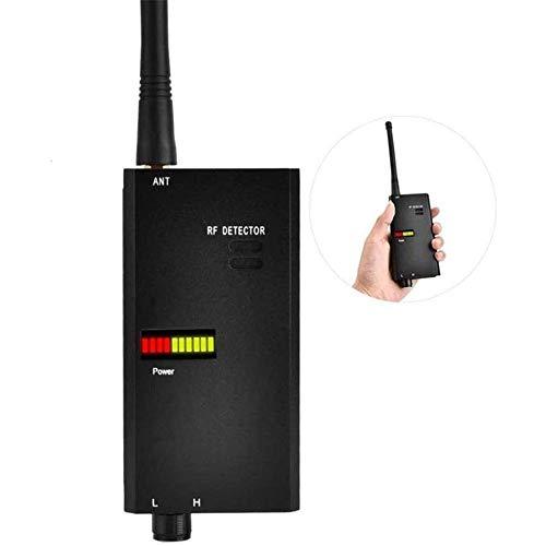 HBBOOI Anti-Spy RF-Signal-Detektor Wireless-Signal-Detektor GSM WiFi Mikrowellen-Sensor Anti-Spy GPS-Sicherheits-Warnung Detektor RF Gerätedetektor