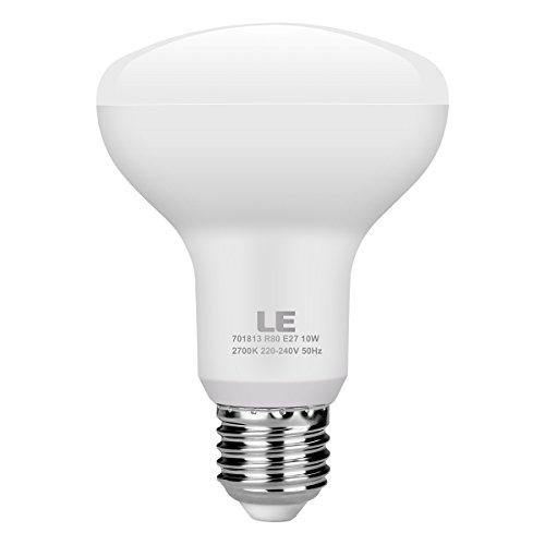 Iluminación EVER E14 Bombillas LED, E14 R50 Focos LED Bombilla incandescente equivalente a 6 W 45 W, 450 lm, blanco cálido 2700 K, haz de 120 ° (juego de 1)