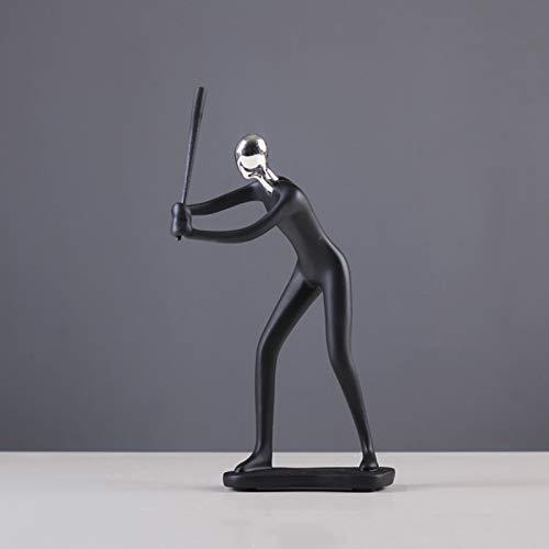 Paar Tanzfiguren Tanzen-Paar-Statue - Kunst-Dekoration Für Haus-Büro, Zimmer Hochzeitsgeschenk Schlafzimmer Möbel Dekorative Verzierungen,Baseball