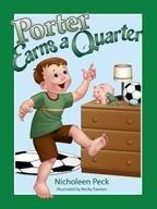 Hardcover Porter Earns a Quarter (Four Basic Skills Series, Volume 2) Book
