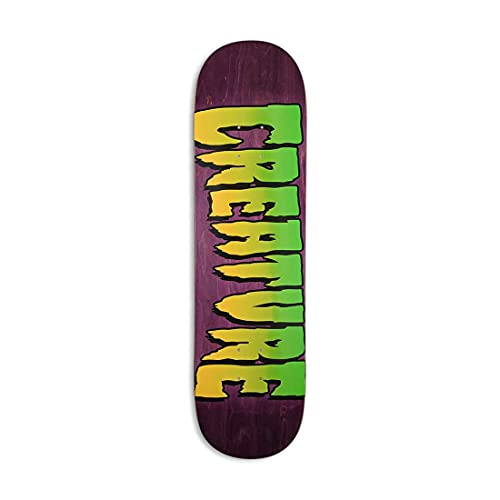 Creature Skateboard Deck Logo Stomp 8.25