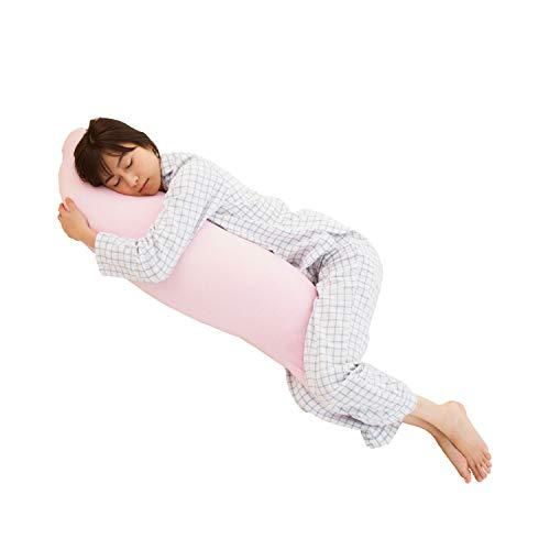 EFFECT 厳選素材で枕専門店が作った 抱き枕 日本製 洗える ふんわり 妊婦 に優しいS型 綿100% 抱きまくら ...