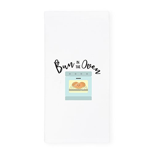 The Cotton & Canvas Co. Bun in The Oven Soft and Absorbent Kitchen Tea Towel, Flour Sack Towel Dish Cloth, 1-Count