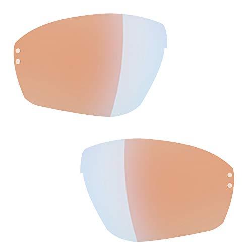 Ersatzgläser für adidas Evil Eye Halfrim und Pro a167 168 a402 a403 LST bright blue mirror (S)
