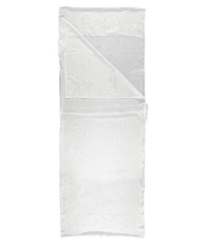 Meru Innenschlafsack/Hüttenschlafsack/Reiseschlafsack Mummy Liner Silk Champagner (102) 0