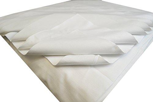 2KG Polier Reinungstücher Putztücher Putzlappen 100% reine Baumwolle Zuschnitt Weiss Umweltfreundlich DIN 61650