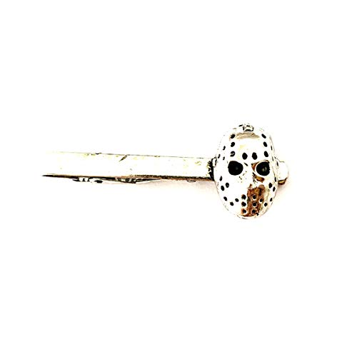 Universe of Fandoms TV Movies Show Original Design Quality Anime Cosplay Jewelry Cartoons Horror Jason Voorhees Tie Clips Collection Gifts for Men