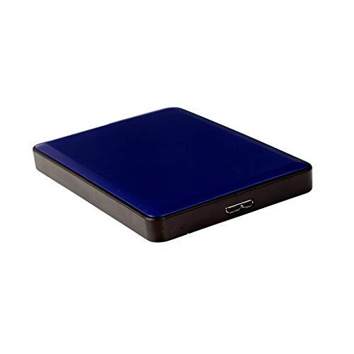 LBWT Disco Duro Portátil, Móvil De Disco Duro 500 GB De Capacidad Simple Operación USB3.0 / Inicio/Escuela Oficina (Color : Blue, Size : 500gb)