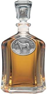 Racehorse Capitol Decanter
