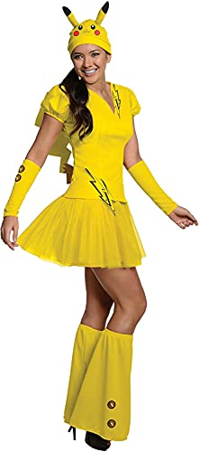 Disfraz de Pikachu Pokemon para mujer