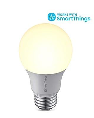 Samsung SMARTBULB/GP-LBU019BBAWU / GP-LBU019BBAWU / Smart Light Bulb SmartThings Dimmable Light Bulb/SmartThings Hub Required (Renewed)