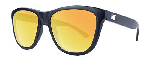 Gafas de sol Knockaround Premium Black / Sunset Polarizadas