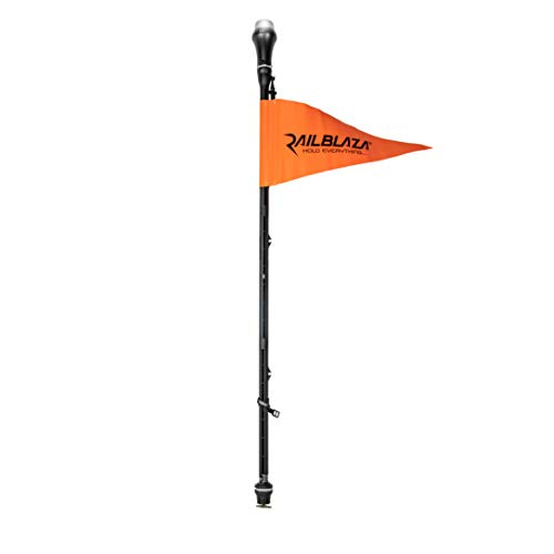 RAILBLAZA Visibility Kit II with MiniPort Track Mount Kayak Flag with Light