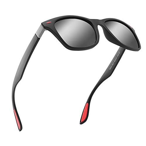 DOVAVA Polarisierte Sonnenbrille Herren mit 100% UV400 Schutz,Ultra Leicht und Langlebig Sonnenbrillen für Herren zum Fahren & Angeln & Sport