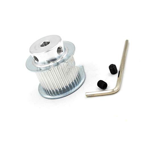 Poulie gt2 6 mm 30 dents 5 mm courroie de distribution disque 3d Imprimante CNC fraise